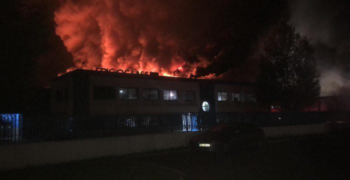 incendiu Frigoglass